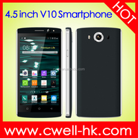 V10 4.5 Inch IPS Screen Android 4.4 Dual Core WIFI GPS 3G mobile phone