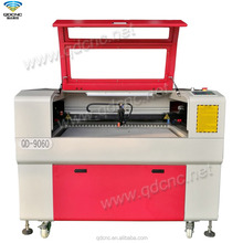 laser machine can used for cutting and engraving with narrow gap on back of machine QD-9060