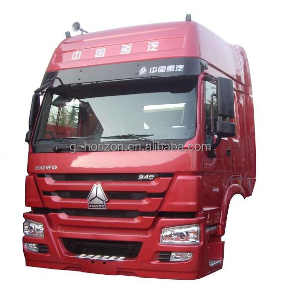 Comfortable tractor truck cabin with double sleepers for sale