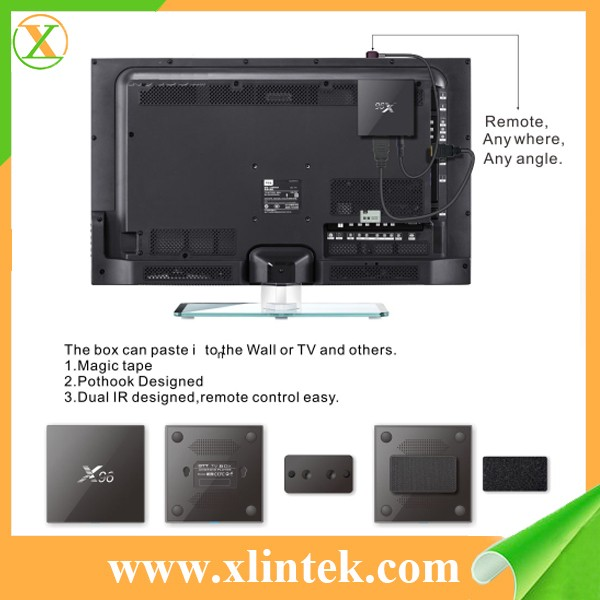 Download user manual for android x96 tv box 4K*2K UHD 1080P H.264 tv box
