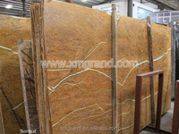 Indian rain forest brown amber marble slabs for decorative wall panel