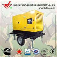 Segmented market!10kw-500kw trailer type mobile power station