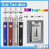 Newest style 2200mah sub two mini 30w TC topoo vaporizer