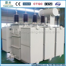 35KV oil three phase 10 mva power transformer price
