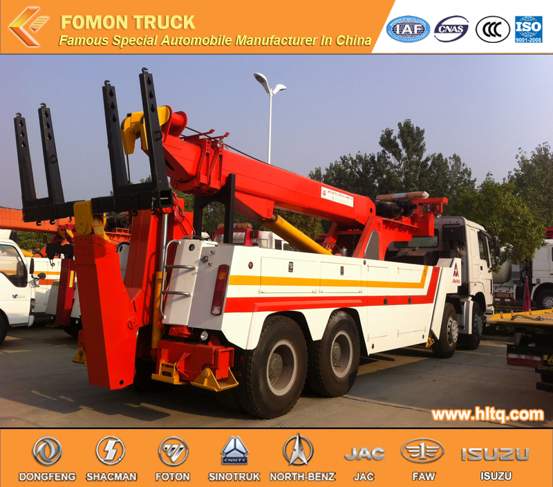 Foton 20 ton heavy duty rotator wrecker towing truck for sale