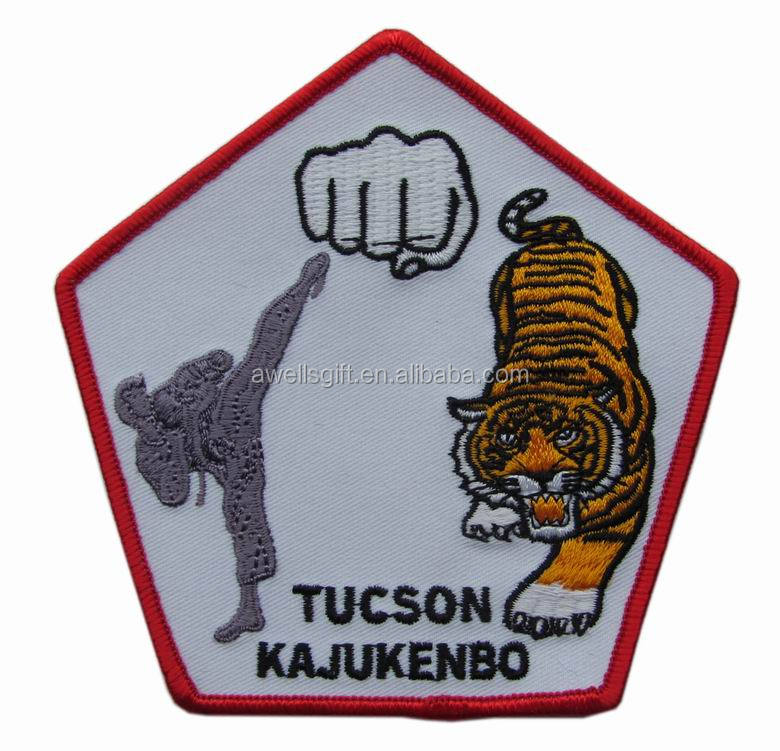 TUCSON KAJUKENBO MARTIAL ARTS embroidered patch