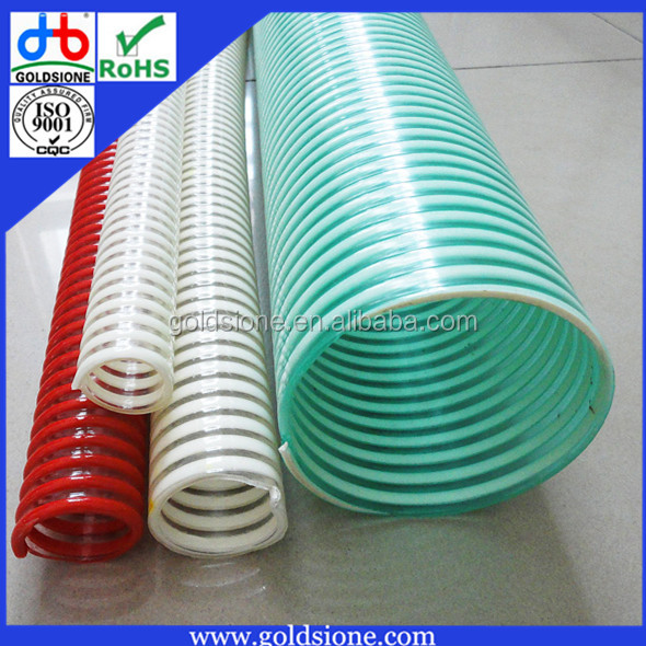 hot selling 1 2 3 4 5 6 7 8 inch pvc flexible pipe