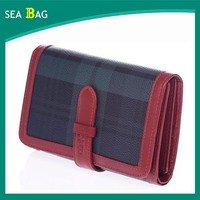 2016 PU wallet for Lady shopping wholesale promotional wallet for girl