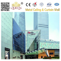 Aluminum Curtain Wall panel for project Shanghai International Financial Center