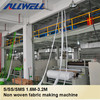 2014 New Type Full automatic pp spunbonded non woven fabric making machine