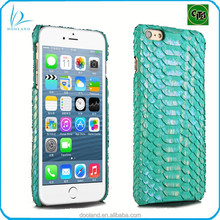 Luxury quality genuine python leather real python skin cover case for iphone 6
