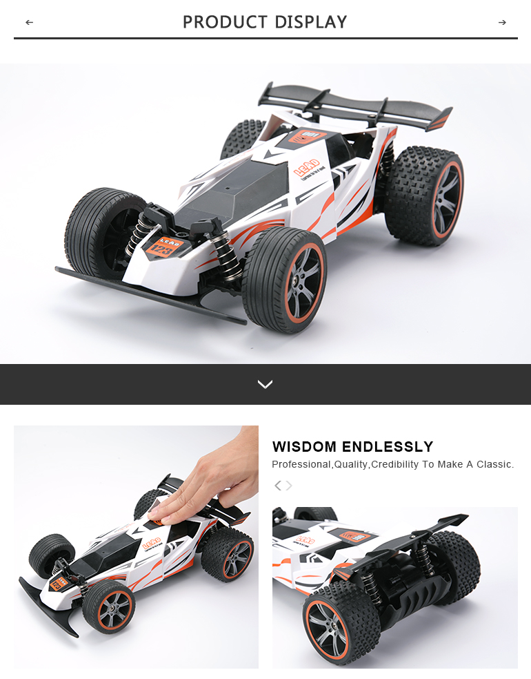 Attop radio control car toy 4ch high speed rc car for child kids