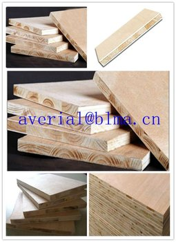 12-21MM Block Board for Furniture and Door Panel