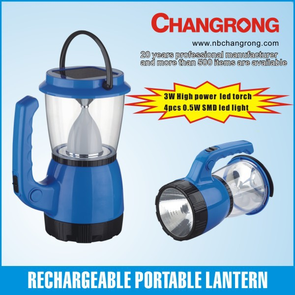 High quality factory direct supply outdoor use portable led solar powered tent lantern for camping