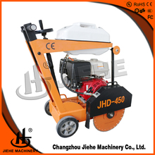 Walk behind asphalt cutting machine, asphalt cutter, small concrete or asphalt cutting jobs(JHD-450K)