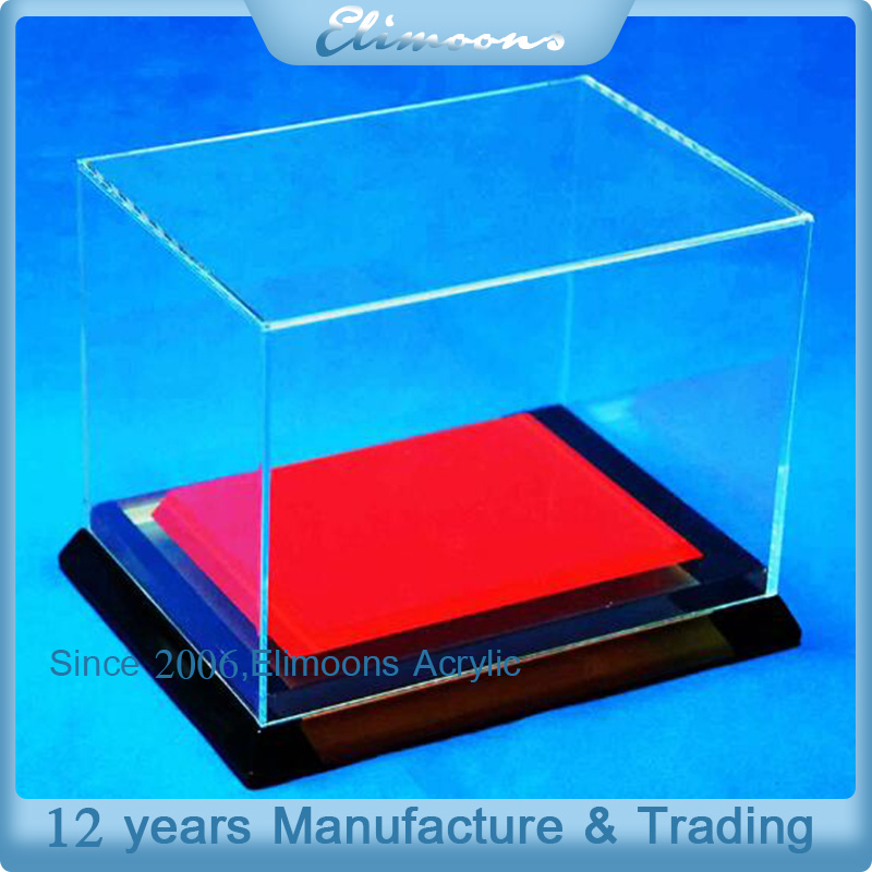 Professional Acrylic Museum Display Stands /Glass Show Case Display