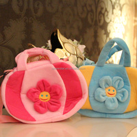 Hot sale Kids Gift plush cartoon bag pumpkin design 17cm