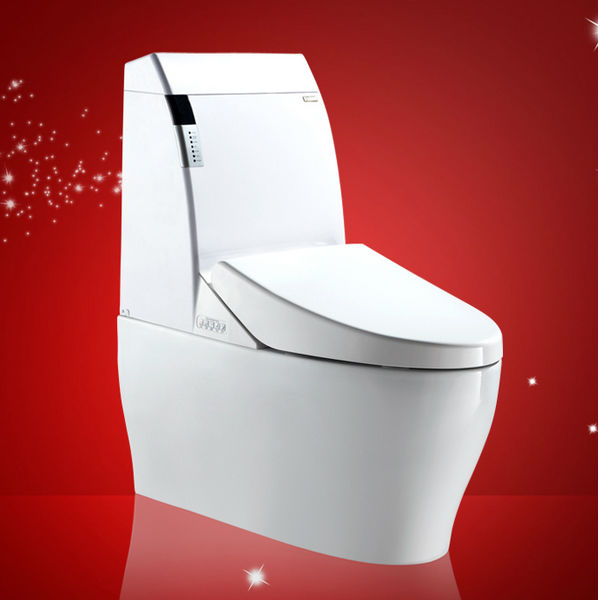 Ceramic Combination Toilet Bidet One Piece Toilet Bidet Remote Control operation Bathroom Agent