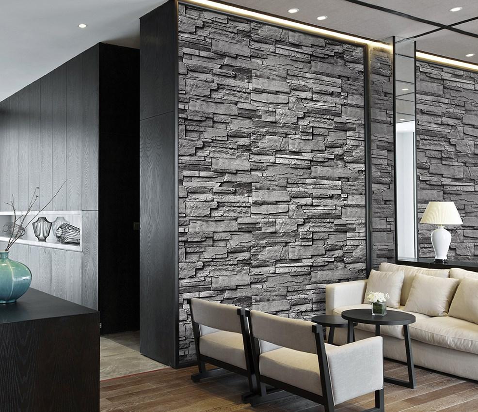 Brick Wallpaper Vinly Wallpaper 3d Wall Paper Korean