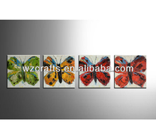 Beautiful butterfly oil painting on canvas group painting of butterflies