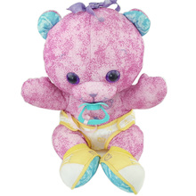 Customized Stuffed Animal Pacifier Baby Teddy Bear Plush Toys
