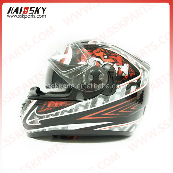 HAISSKY motor spare parts provide motorcycle helmets of factory price