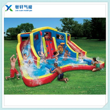 3 in 1inflatable bouncy jumping castle with slide and pool/inflatable bouncy castle/inflatable bounce water slide