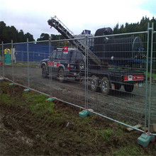 Australia Fence, 6' high x 10' long chain link portable panels be used temporary fences for construction