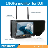 7 inch Wireless 5.8GHz 4 Bands Receiver FPV Monitor
