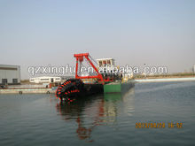 Dredger ship