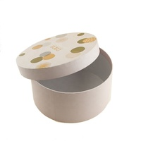 Factory Made Packaging Custom Paper Round Cylinder Candle Gift Box