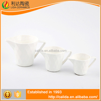 Durable elegant modern deign white LM633 ceramic coffee cup lids made in China