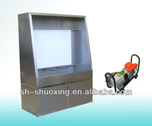 Manual Screen Washout Booth with Backlight to wash the screen frame