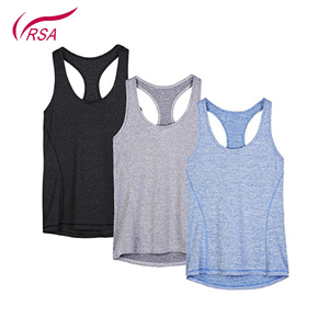 Wholesale High Quality Custom Running Women Yoga Tank Tops
