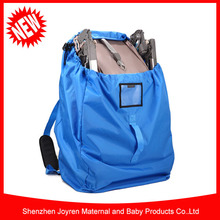 Nylon Stroller Travel Bag And Carrier For Gate Check & Travel Pouch