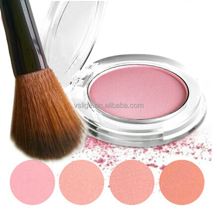 Hot selling OEM/ODM single rosy makeup mineral blusher