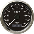 85mm GPS speedometer velometer gps odometer 0-200km/h for truck car motorcycle