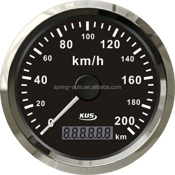 Digital GPS speedometer 200km/h 85mm GPS speedo KY08042