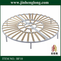 Chinese circle chop bed frame