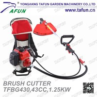 backpack heavy duty brush cutter 43cc