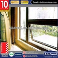 Aluminum Profile Awning Windows AS2047 Australian standard Double Glazed Made In China