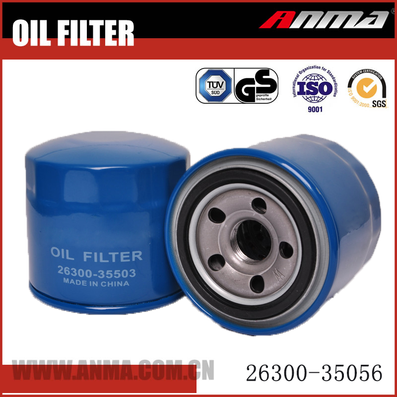 Automotive replacement oil filter 26300-35056