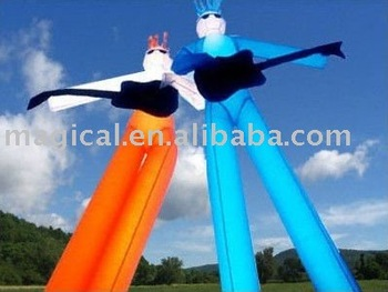 guitarists inflatable air dancer for music show