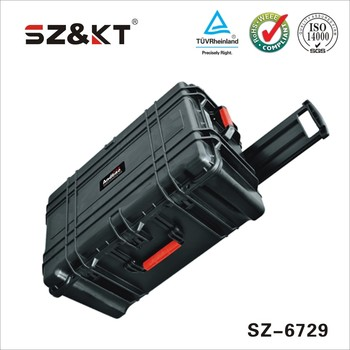 waterproof trolley tool case