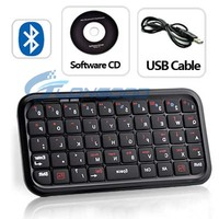 Mini Wireless Bluetooth Keyboard For iPad PS3 for iPhone (IP4G-036)