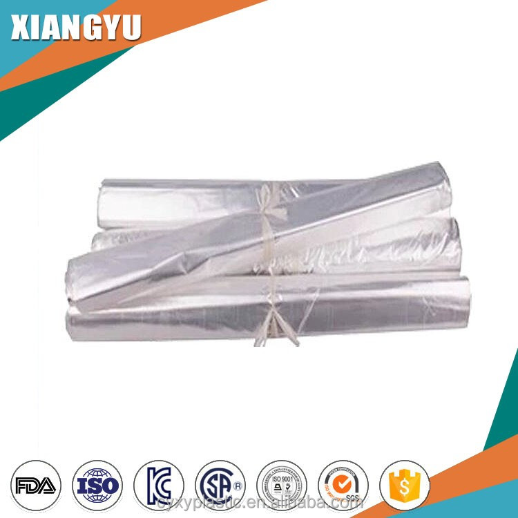 Dustproof and waterproof Dry Cleaning Rolls Poly Bags