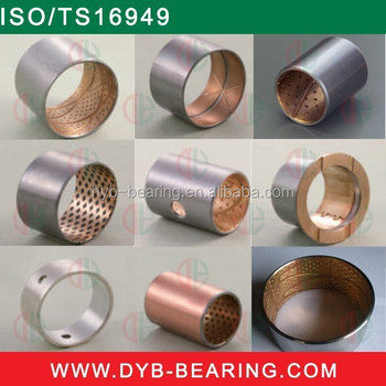 2015 hot sales brass bearing bush material bimetal bushing
