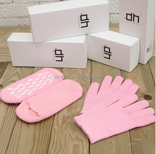 Promotional Cooling Spa Gel Socks Gel Gloves & Moisturizing Gel Gloves & Moisturizing Gloves And Socks