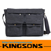15.6 Inch Fashionable Laptop Bag Hot Sale Mens Canvas Messenger Bag