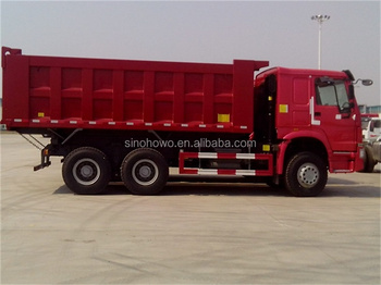 SINOTRUK howo 6x4 heavy mining dump truck 371hp offroad for sale in China